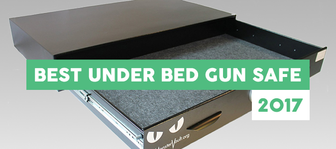 Best Under Bed Gun Safe Reviews Top Picks 2017